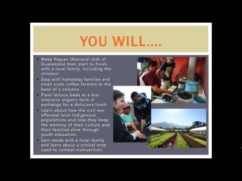IPSL/Origins of Food: Guatemala One Health Program Presentation