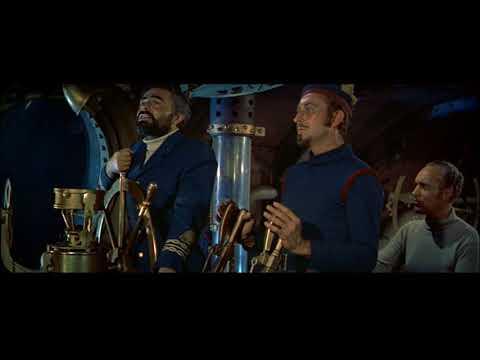 20,000 Leagues Under The Sea (1954) Captain Nemo is Shot