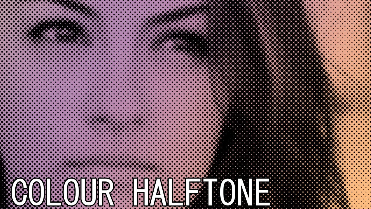 Halftone Pattern Photoshop Awesome Inspiration Design