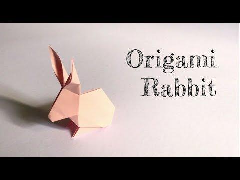 Little Box DiY - Origami Rabbit 兔子摺紙