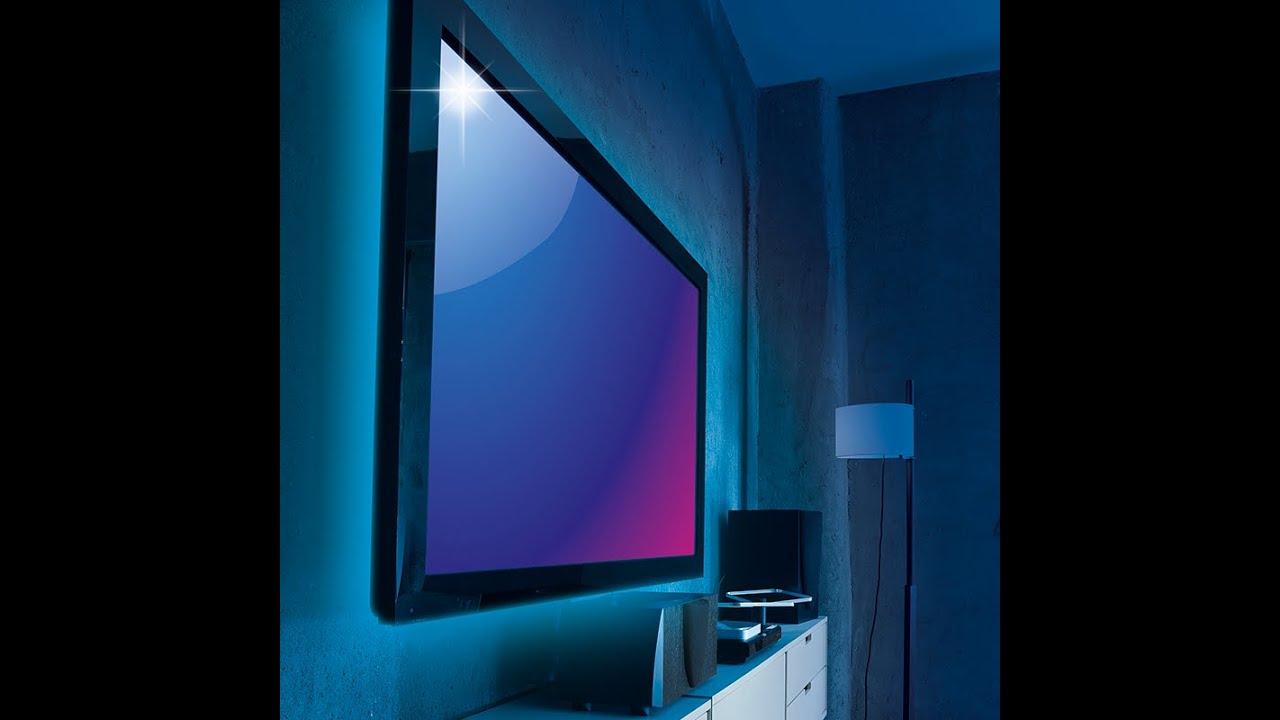 easymaxx tv hintergrundbeleuchtung led 05887 maxx youtube. Black Bedroom Furniture Sets. Home Design Ideas
