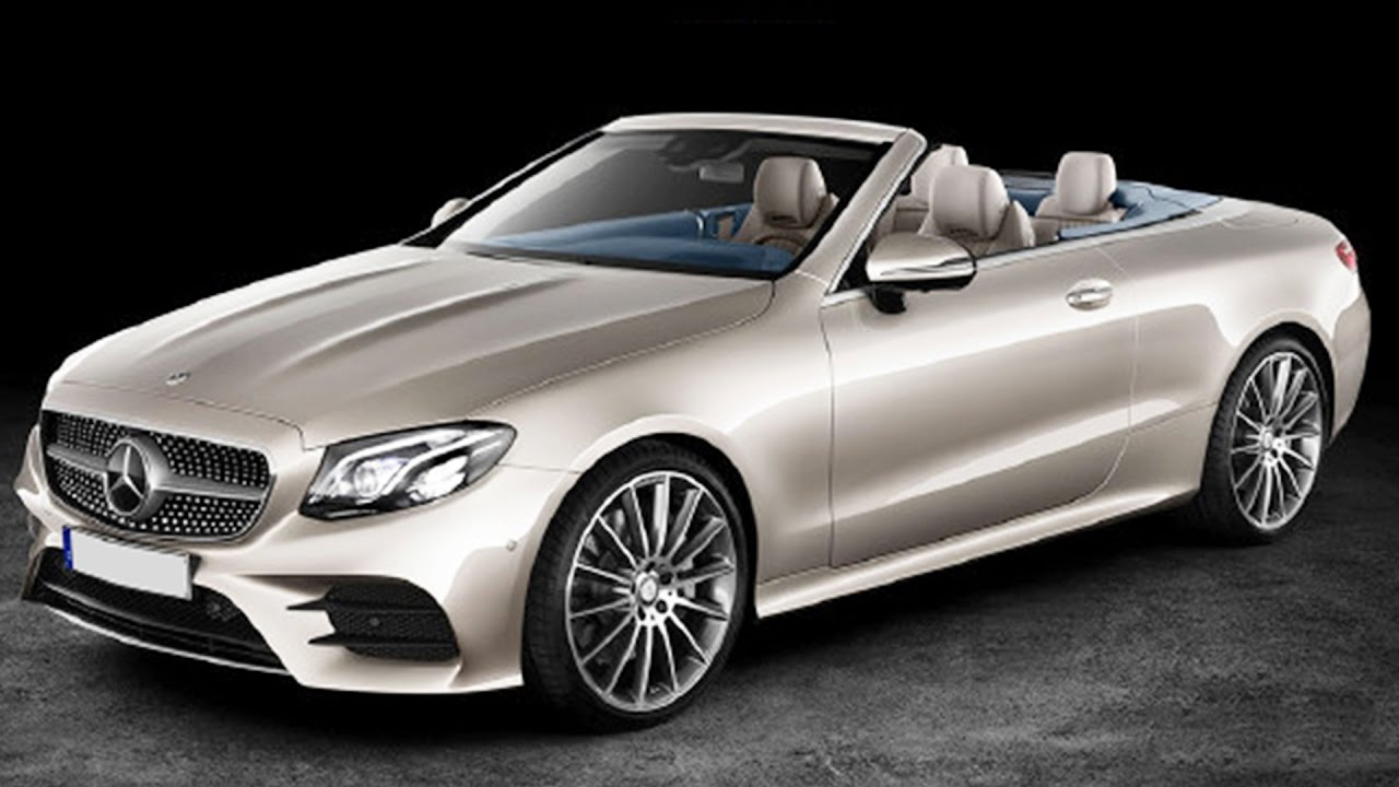 2017 Mercedes E Cl Cabriolet Revealed