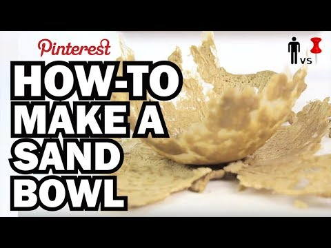 How-To Make a Sand Bowl - Man Vs. Pin #17