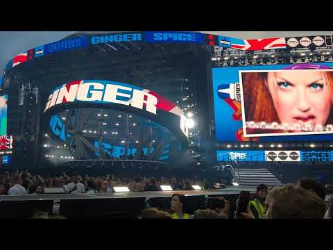 Spice Girls - Spice Up Your Life (Spice World Tour - Croke Park, Dublin)