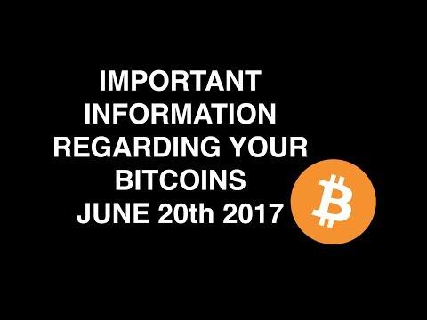 CoinCity Bitcoin Update 20th June 2017