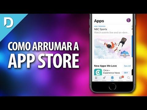 A App Store NÃO FUNCIONA! Como arrumar?
