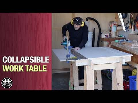 Collapsible Workbench for