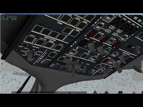 X-plane | Sukhoi Super Jet 100 (SSJ-100) | Cold and dark | UMII - UUWW