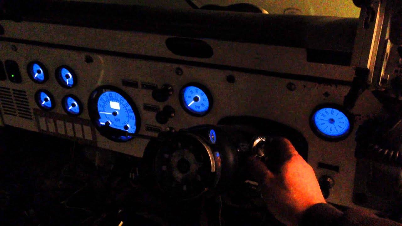 speedhut cj gauge install right hand drive alaskan postal scrambler  [ 1280 x 720 Pixel ]