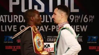 Crawford-Postol Los Angeles Press Conference