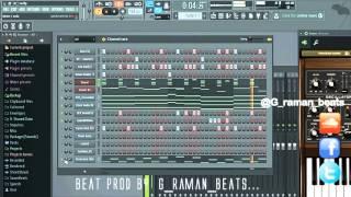 @G_raman_beats - Fl studio 12 Hip Hop Beat. (Mzansi Hip Hop Beat Maker)