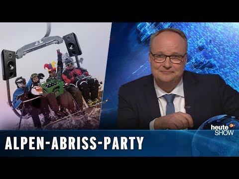 Massentourismus: In 20 Jahren gibt es in den Alpen keine Skigebiete mehr | heute-show vom 01.02.2019