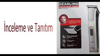 Dearling RF-128 Saç ve Sakal Traş Makinesi İnceleme ve Tanıtım