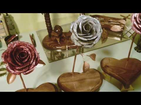 DIY Steel And Copper Rose