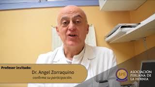 Dr. Angel Zorraquino participará en II Congreso de la Hernia