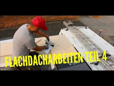 Dachdecker / Flachdacharbeiten Teil 4️ / Bauder KSA am Randbereich!