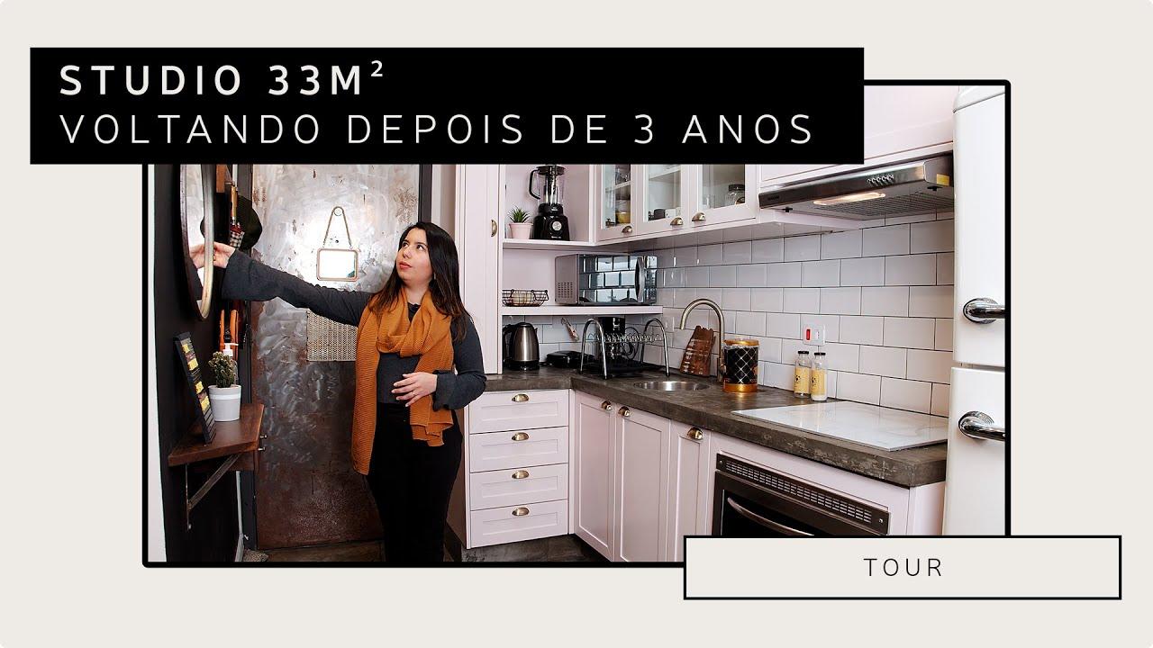 Apartamento Studio de 33 m2.