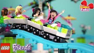 라임의 레고 프렌즈 놀이공원 롤러코스터 41130 장난감 놀이 LimeTube & Toy 라임튜브