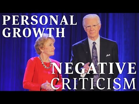 Personal Growth & Negative Criticism