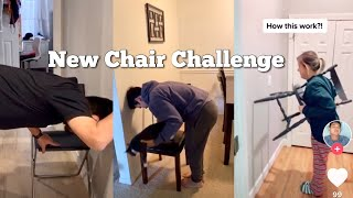Hot new chair challenge tik tok | tiktok funny compilation video | Chair Challenge
