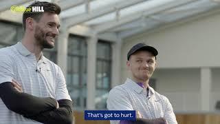 Spurs Golf Play-Off - Christian Eriksen, Hugo Lloris, Kieran Trippier & Fernando Llorente