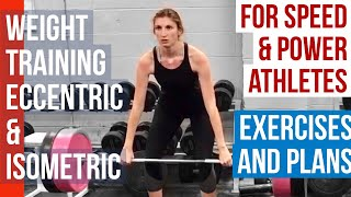 Jump Further, Sprint Faster with Eccentric & Isometric Training