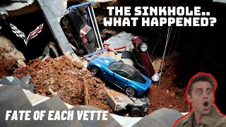 THE SINKHOLE THAT SWALLOWED 8 RARE COREVETTES. WHAT HAPPENED? WHERE ARE THE VETTES NOW?