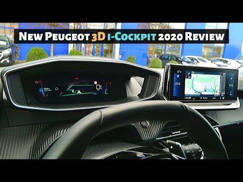 New Peugeot 3D i-Cockpit & Multimedia System 2020 Review