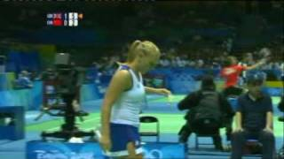 Beijing Olympics Emms/Robertson vs Gao/Zheng Part 3