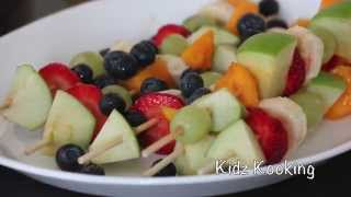 How To Make Delish Fruit Kebabs