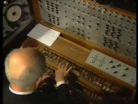 Oskar Sala - Live-Konzert 1991 - Mixtur-Trautonium