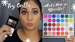 BEAUTY GLAZED EYESHADOW PALETTE + SWISS BEAUTY EYEBROW POWDER REVIEW | WHAT'S NEW IN AFFORDABLE ?