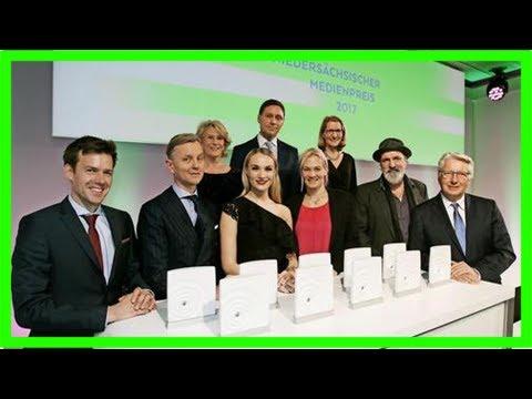 Niedersächsischer medienpreis in hannover verliehen – haz – hannoversche allgemeine