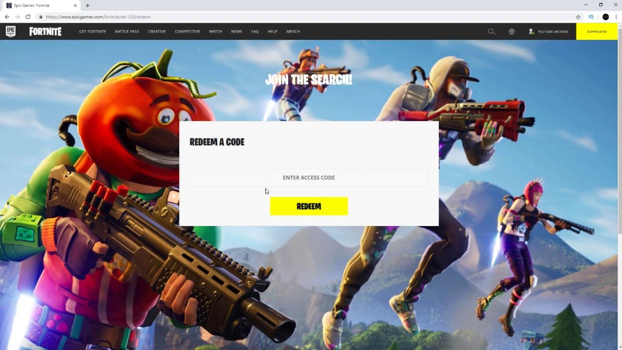 Fortnite Redeem Code Xbox One Www Tubesaim Com