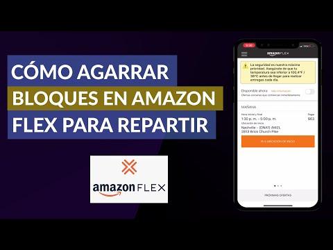 Cómo Agarrar o Atrapar Bloques en Amazon Flex para Repartir
