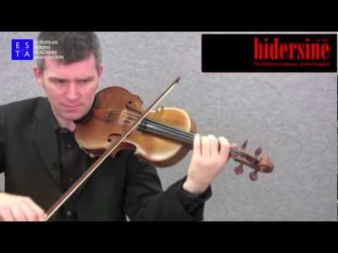 Violin Technique - Barriolage