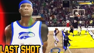 NBA 2K11 Crew Mode Throwback: CLOSE GAME - The VERY Last Shot!