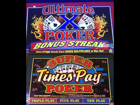 Multi Hand Video Poker - Live Play