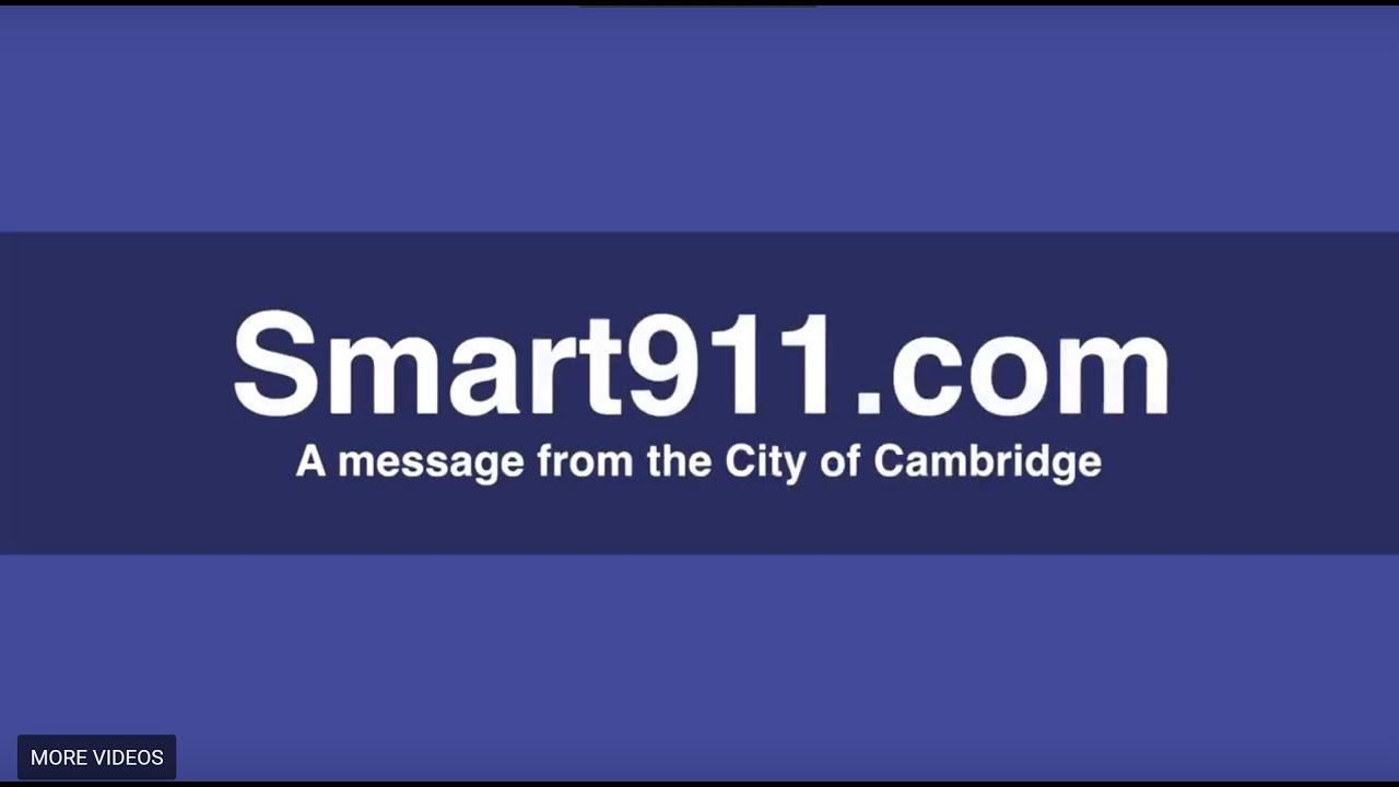Emergency Communications - City of Cambridge, MA