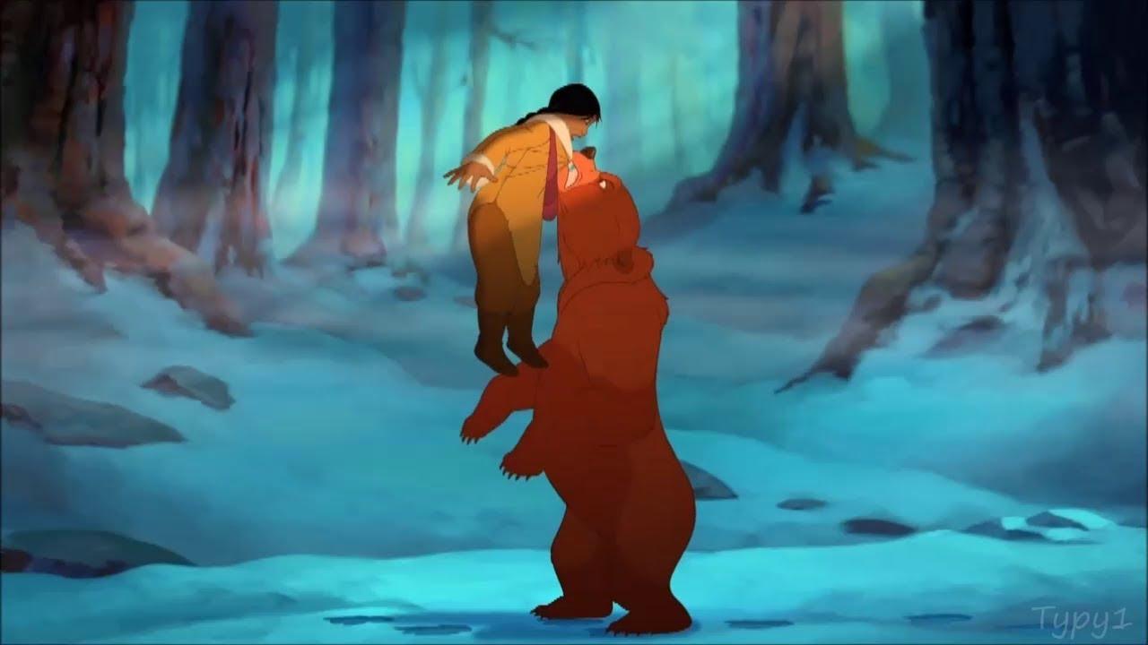 Brother Bear 2 Nita Meets Kenai And Koda English Hd Youtube