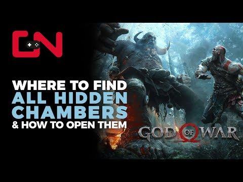 God of War Hidden Chambers & Valkyrie Locations