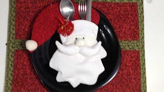 Como fazer um enfeite de mesa para o natal