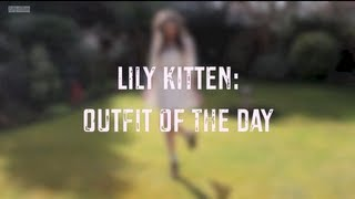 Lily Kitten: Outfit of the Day - Floral and Lace Thumbnail