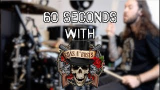 NIGHTRAIN | 60 seconds with...Guns N' Roses | Chris Allan Drums