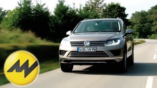 VW Touareg V6 3.0 TDI Blue Motion im Test 2014