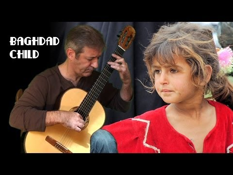 Baghdad Child - Classical Guitar by Frédéric Mesnier