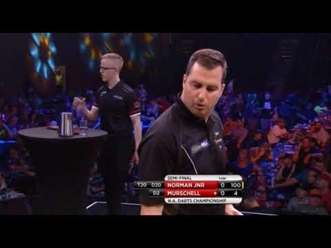 2018 N.A.Darts Championship Semi Final Norman Jnr vs Murschell