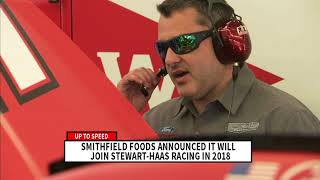 Up to Speed: Smithfield Foods to join Stewart-Haas Racing in 2018
