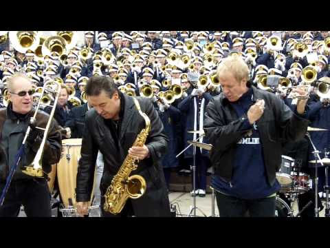 Chicago - 25 or 6 to Four with Notre Dame Marching Band 11-19-11