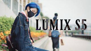 LUMIX S5 4K 60p 4:2:0 10bit 浅草ポートレート / 手持ち撮影テスト / No Gimbal